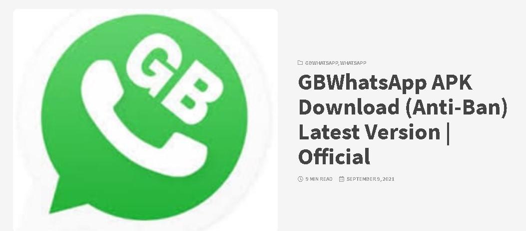 Whatsapp Gb Versi Plus Apk